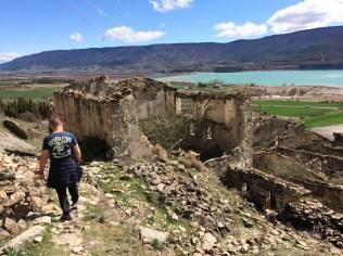 Verlassenes Dorf bei Sigues