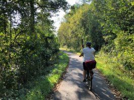 Fahrradtour Helenesee