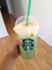 Green Tea frap.