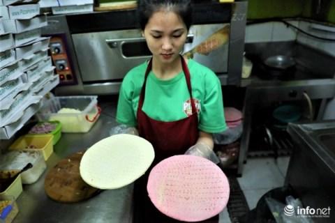 Độc đáo với món pizza làm từ thanh long ruột đỏ hút khách tại Hà Nội - 1