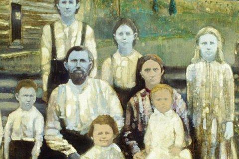 Gia đình vợ chồng Martin Fugate và Elizabeth Smith.