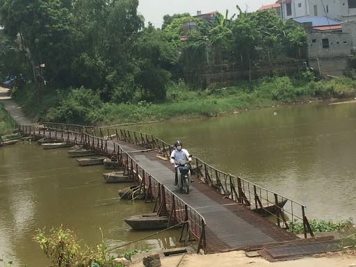 """Những cây cầu """"nối đôi bờ vui"""" trên sông Đáy - Nhịp sống Hà Nội"""