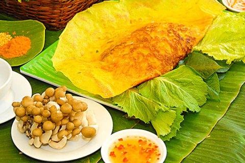 Tổng hợp đặc sản Bà Rịa Vũng Tàu: Bánh xèo Long Hải - Vietflavour