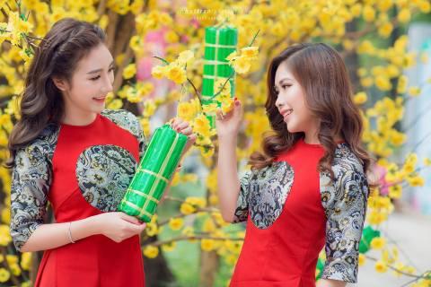 Tết cổ truyền Việt Nam. (Ảnh: Hồng Vân Nguyễn)