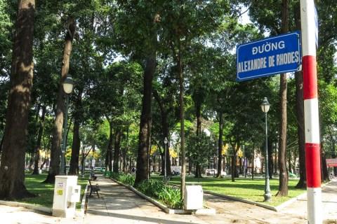 Lịch sử tên đường: Đường Alexandre de Rhodes (Quận 1) - Quê hương ta nhớ