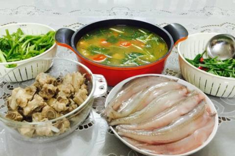 Lẩu cá khoai - đặc sản Quảng Bình