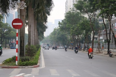 """Tuyến đường Hàm Nghi đoạt giải """"Tuyến phố văn minh đô thị"""""""