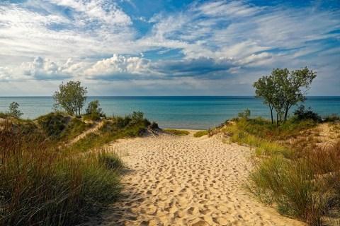 Indiana Dunes Công Viên Tiểu Bang, Bãi Biển