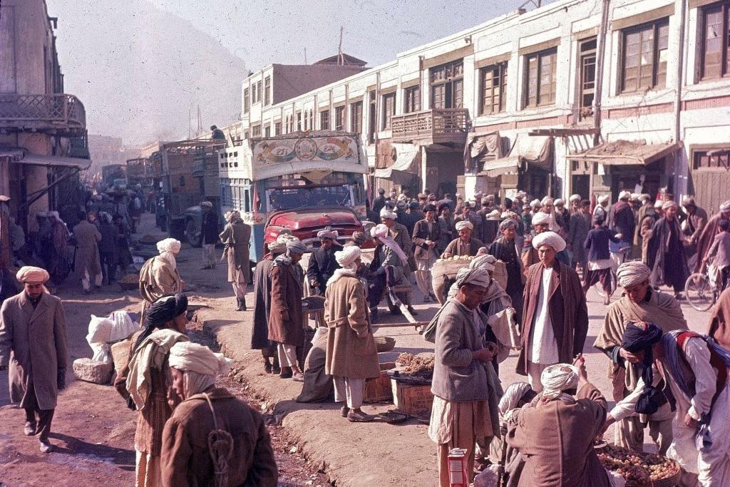 Cuộc sống bὶnh yên và sung tύc ở Kabul thập niên 1960