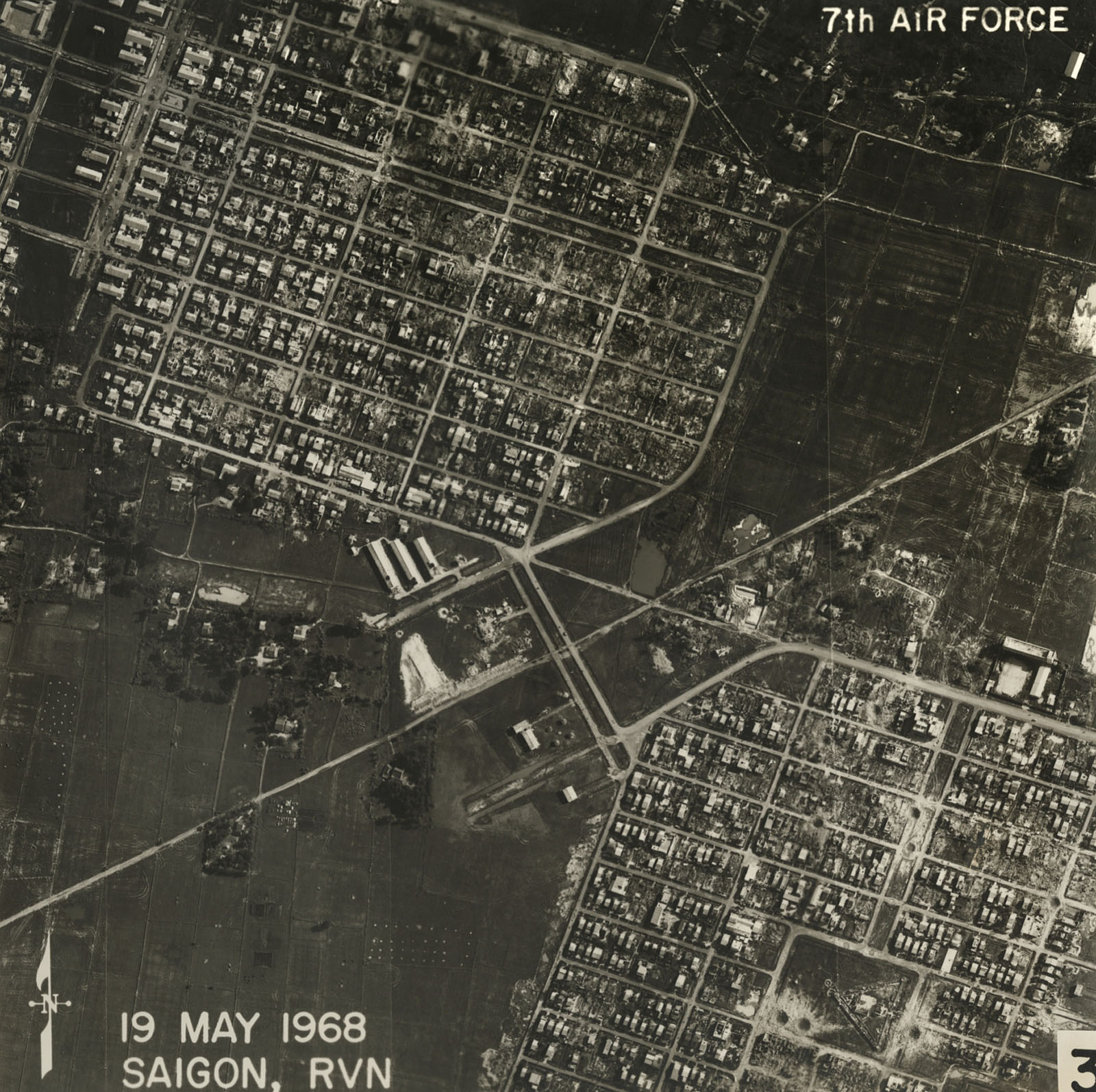 Chùm ảnh: Góc nhìn lạ về Sài Gòn năm 1968