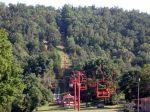 Alpine slide ski lift