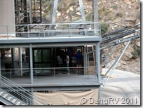 Aerial tramway station