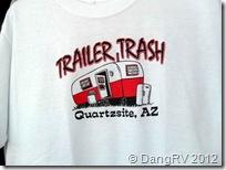 Quartzsite Trailer Trash
