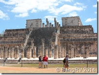 Chichen Itza Warriors Temple