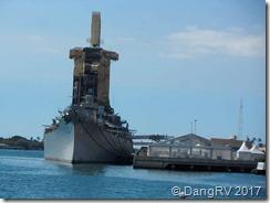 USS Missouri where Japan surrendered