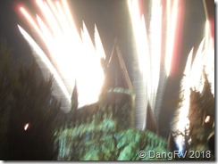 Hogwarts night show