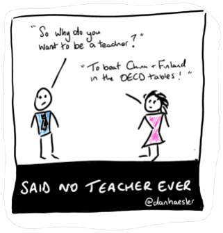 said no teacher ever
