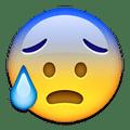 nervous emoji