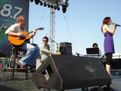 Performing with Kelly Sweet, Detroit Jazz Festival