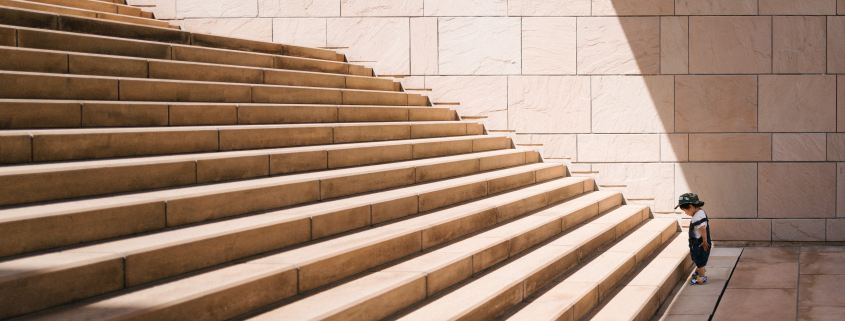 the staircase of small victories