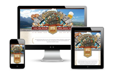 2014. The team at Icon Graphics was tasked with redesigning the Augustoberfest site. I tried to pull in lots of German influence into the design while keeping it clean and open.