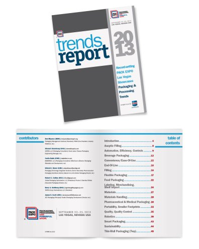 2013. PMMI approached me to design their 2013 trends report. I tried to keep the design bold, simple, and easy to navigate, using a grid to intuitively organize information.