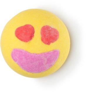 LUSH_Bomba de Sal de Banho - LOVESTRUCK_R$30,00
