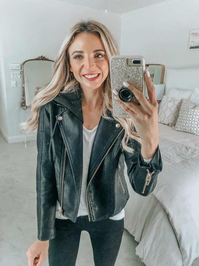 blanknyc black leather jacket nordstrom anniversary sale