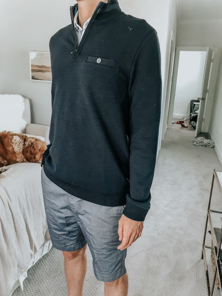 ted baker shorts pullover sweater mens nordstrom anniversary sale