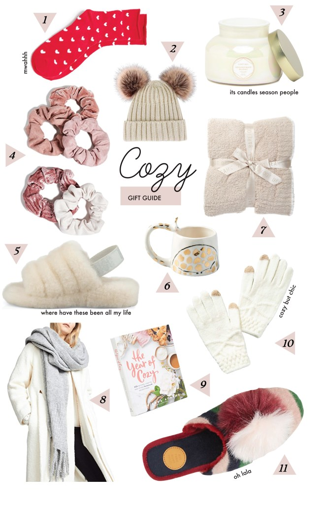 cozy gift guide ideas