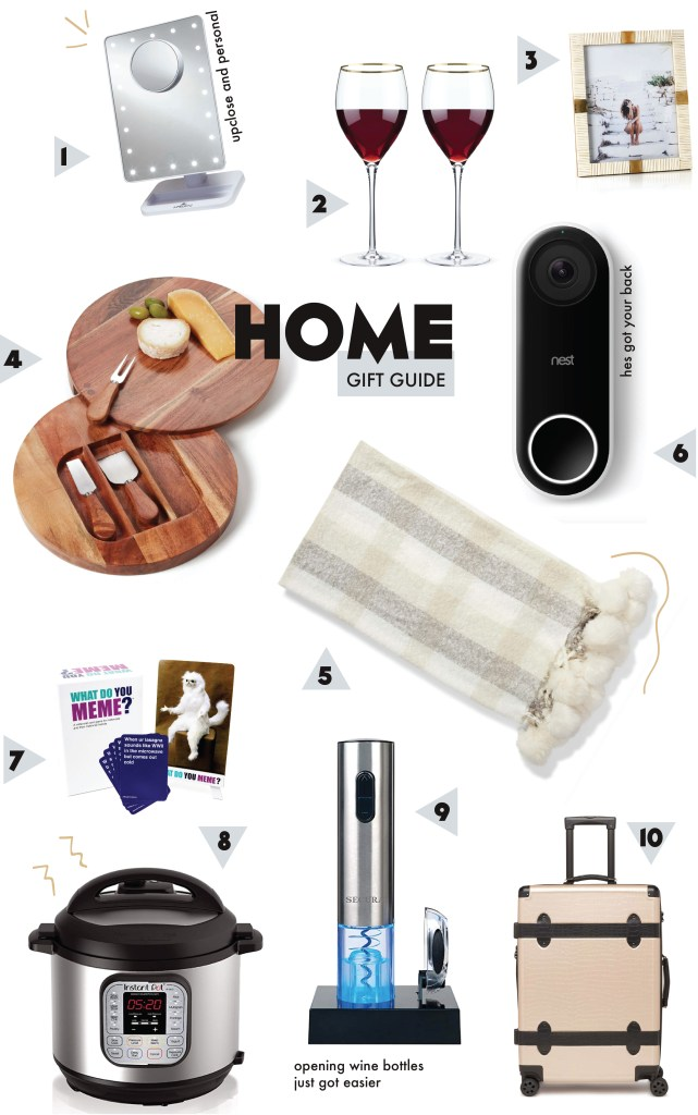 home gift ideas christmas 2018