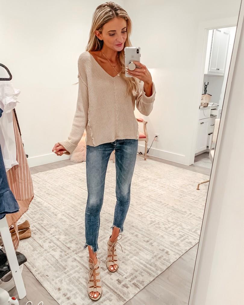 princess polly tan sweater