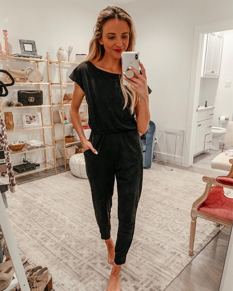 black jumpsuit amazon