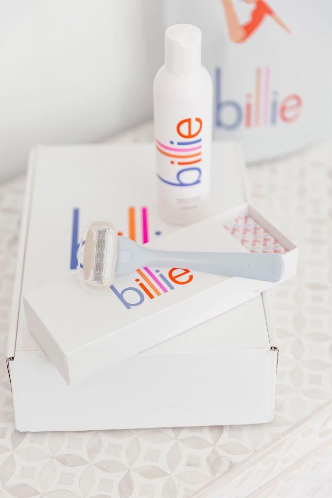 billie razor and shaving cream