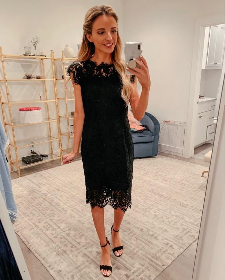 black lace dress amazon
