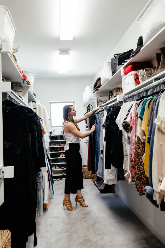 Dani Austin closet organization