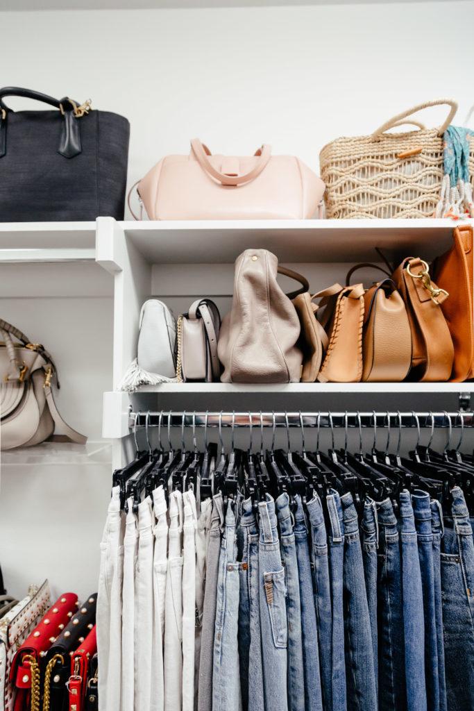 Dani Austin Closet Organization Jeans