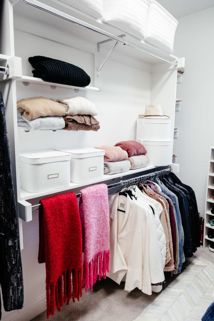 Dani Austin Closet Organization Sweaters