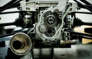 Rear gearbox
