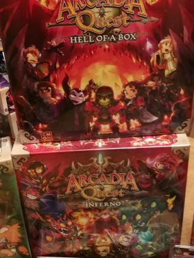 Hell of a box - which includes additional heroes, and Inferno which is a full stand alone game following on from the original