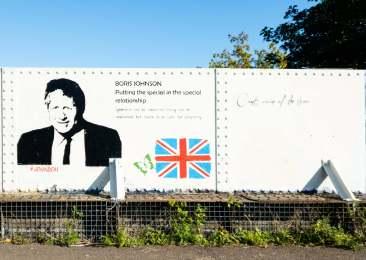 Graffiti on the Honeybourne line