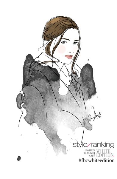 Live-drawing Fashion Illustration von Bloggerin Jule S. / Dieduli.