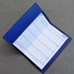Kalenderhülle königsblau
