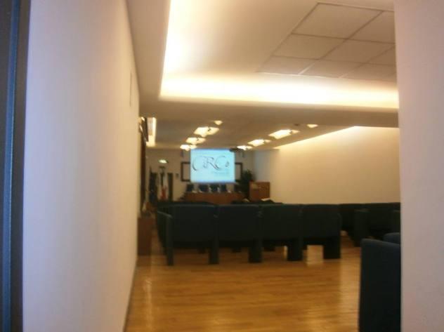 Auditorium Confesercenti, sta per iniziare la cerimonia di premiazione.