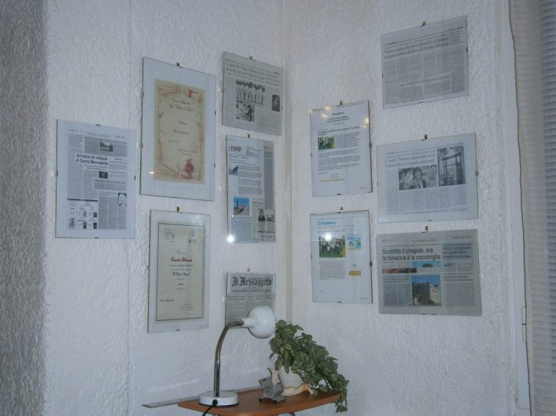 Uno degli angoli della mia casa dove mi piace scrivere.
