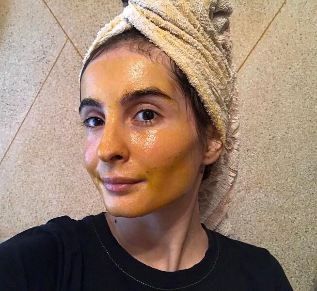 mască hidratantă naturală aplicare