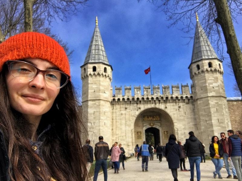 poarta palatul topkapi istanbul daniela bojinca blog
