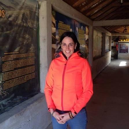 Daniela Bosna at Ravne tunnel