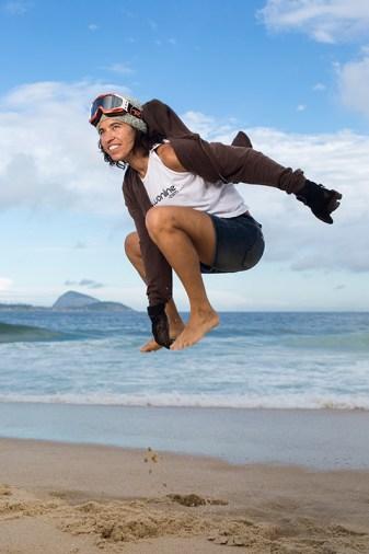 Isabel Clark, snowboarder