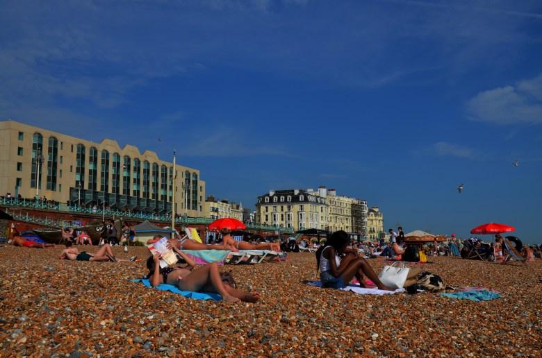 brighton - praia - inglaterra - bate e volta de Londres